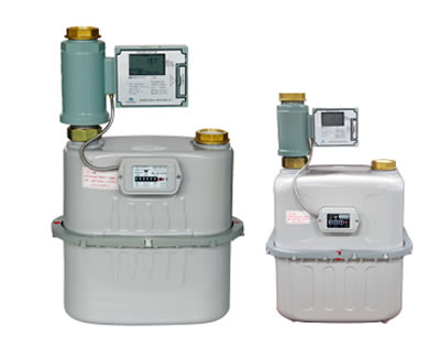 IC card industrial gas meter